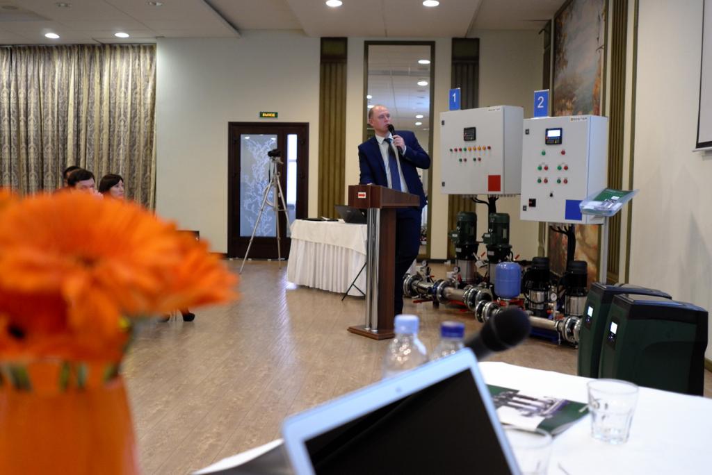 Выступление представителя компании Frese Евгения Братченко